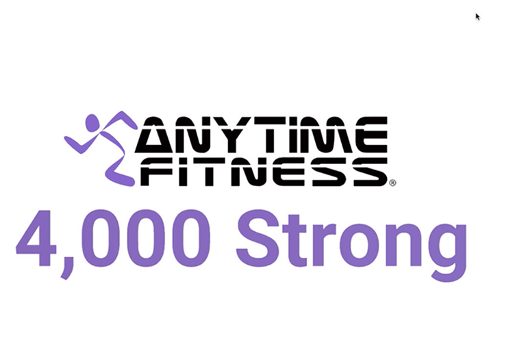 Anytime fitness opent 4.000e fitnessclub in Shanghai