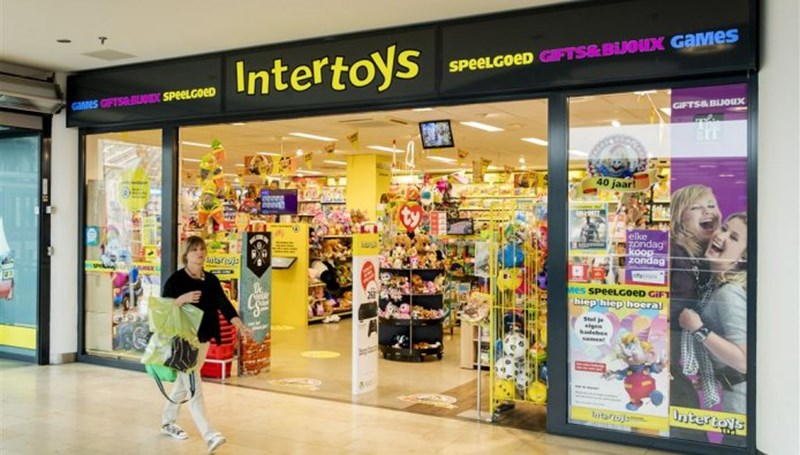 Intertoys Franchise formule in de etalage
