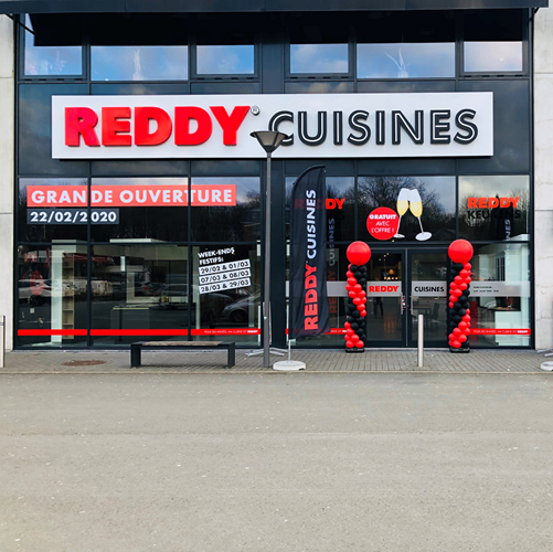 Reddy opent nu ook in Wallonië: Reddy Cuisines