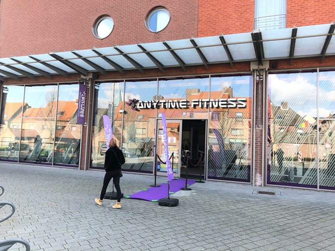 Anytime Fitness heropent vernieuwd filiaal in Maaseik