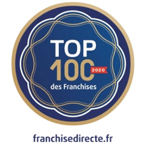 PANO in de Top 100 Franchises in Frankrijk