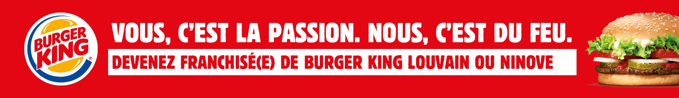 Burger King - Louvain / Ninove - 08/02-08/03/21